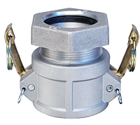 Aluminum Female x Compression Fitting
