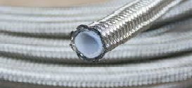 SS Braided Teflon Lined Hose & Components