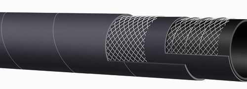 300 PSI Black Fuel & Oil Suction & Delivery Hose