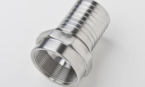 Stainless Steel Female NPTF For Convoluted Hose