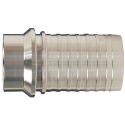 SS 316 Sanitary Tube Weld End x Hose Shank