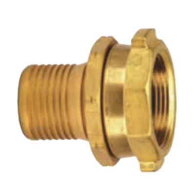 Brass Scovill Style Permanent Female Coupling