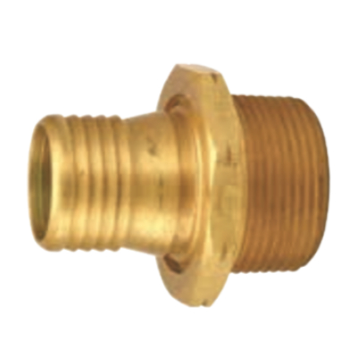 Brass Scovill Style Permanent Male Couplings